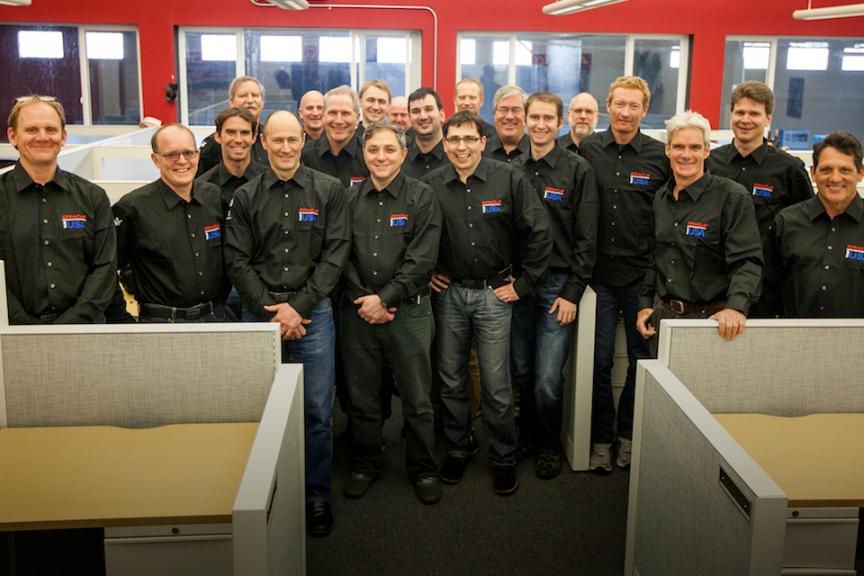 Le design team Oracle team USA