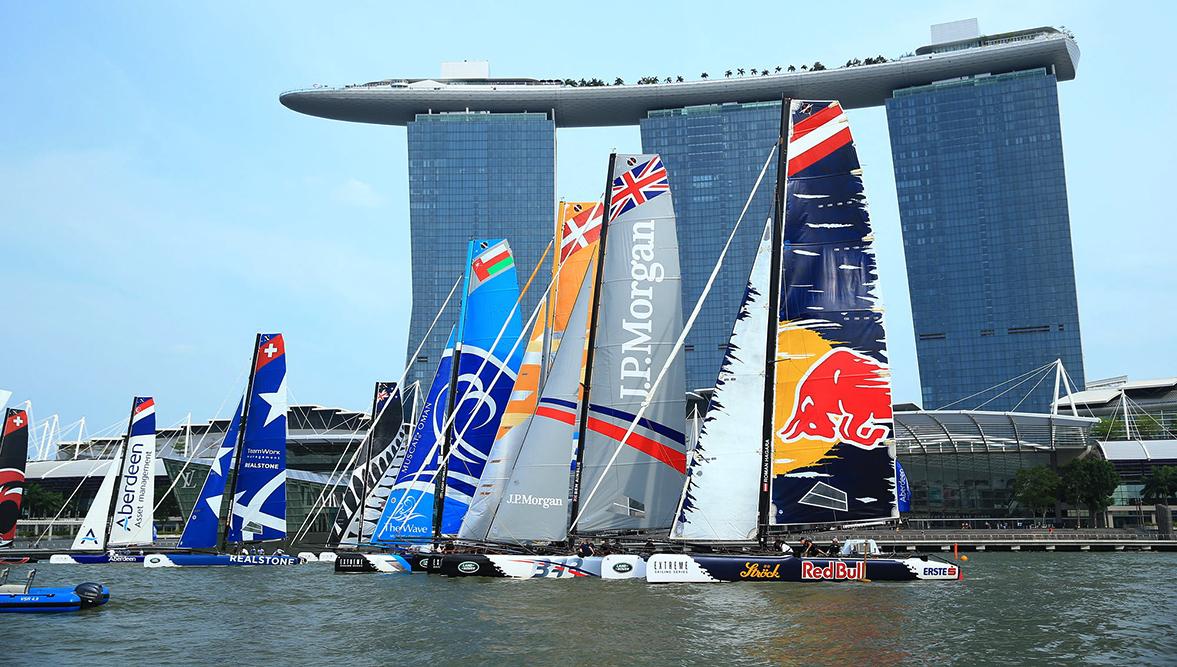 Extrem sailing Singapour