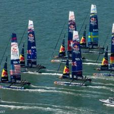 L'équipe française pour la Red Bull Youth America's Cup