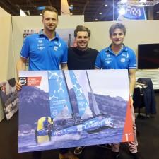 Thibaut Vauchel, Benjamin Lamotte et David Fanouillere Champions 2016 Flying Phantom Series